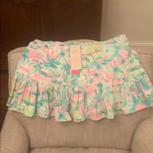 Lilly Pulitzer Luxletic tennis skirt.